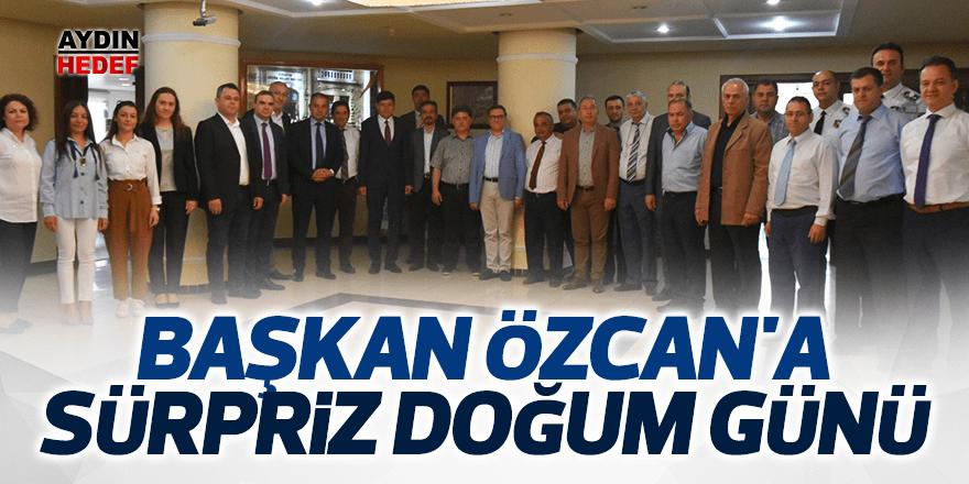 Özcan'a sürpriz doğum günü