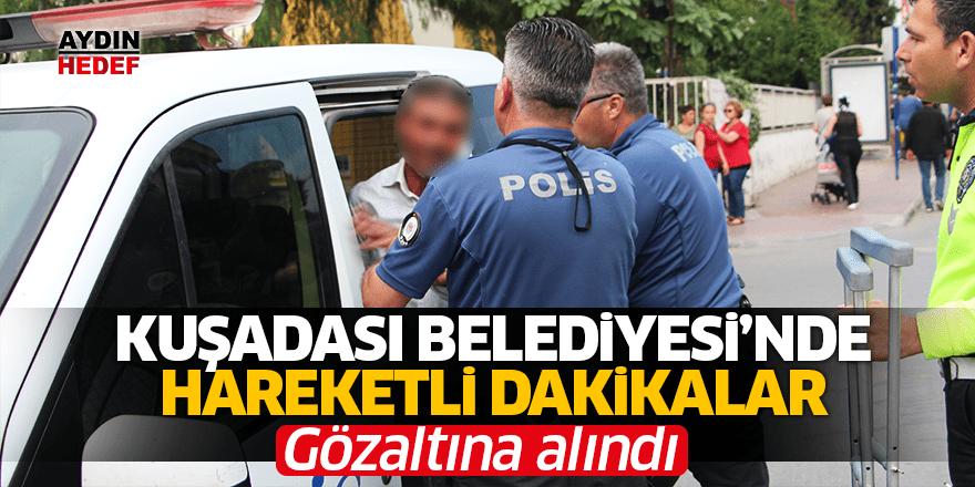 Zabıtaya saldırdı gözaltına alındı