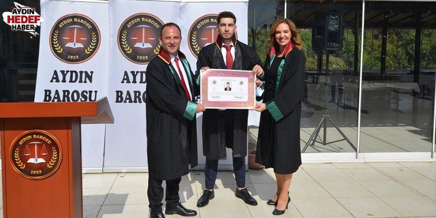 Aydın'a 18 yeni avukat