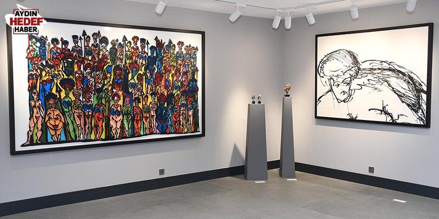 Ünlü sanatçının heykelleri Ada Modern'de