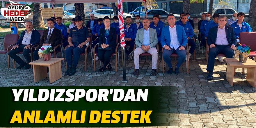 Yıldızspor'dan anlamlı destek