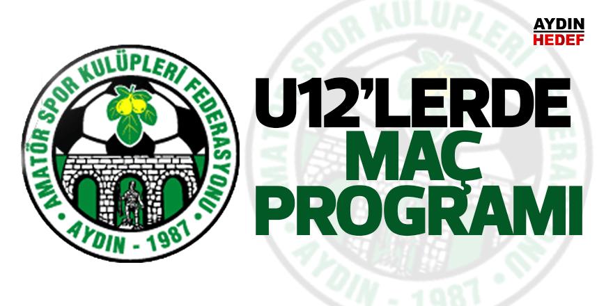 U12'lerde maç programı