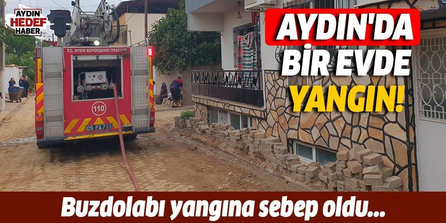 Aydın'da bir evde yangın çıktı