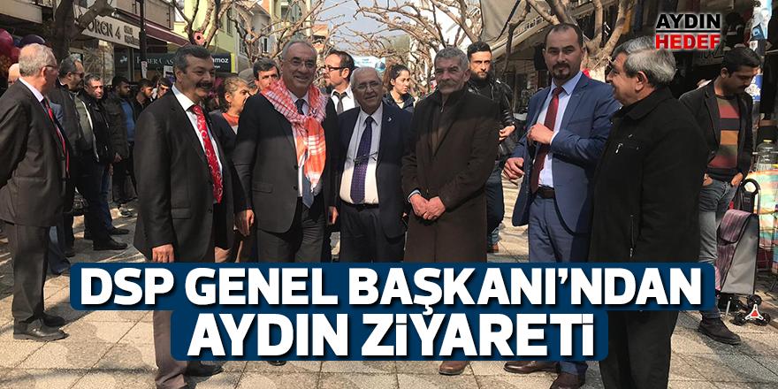 DSP Genel Başkanı'ndan Aydın ziyareti