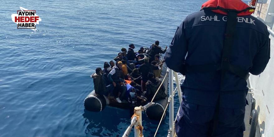 87 göçmen kurtarıldı