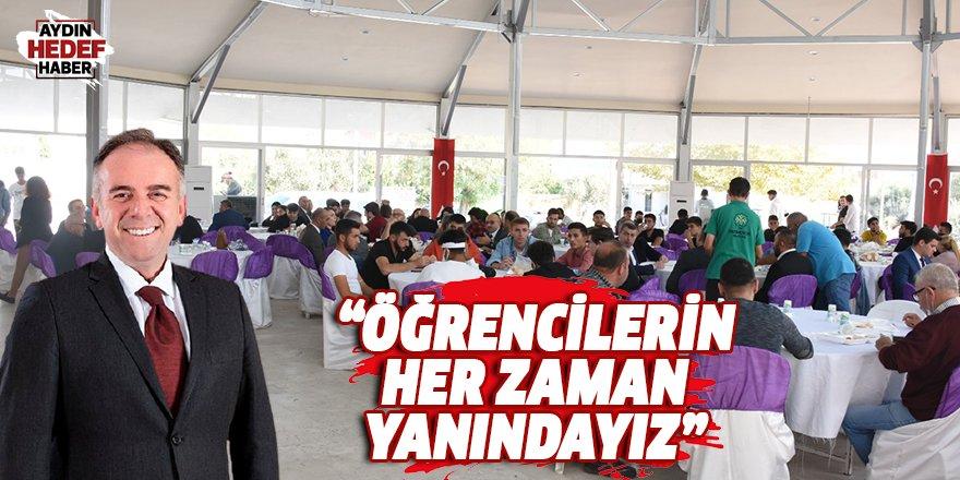 Başkan Öndeş, Üniversiteli öğrencilerle buluştu