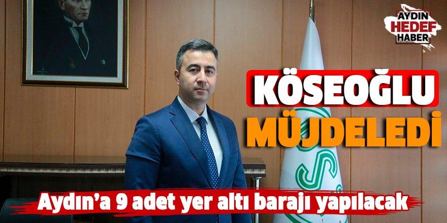 Aydın'da 9 adet yer altı barajı yapılacak