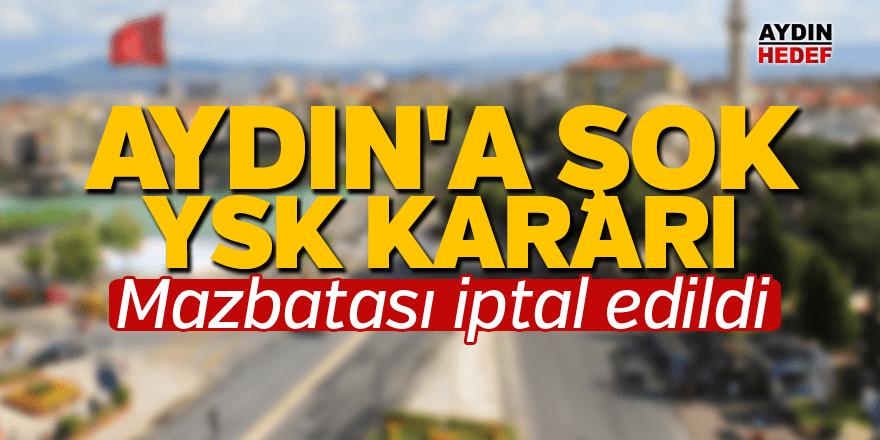 Erdal Kılınç'ın mazbatası iptal edildi