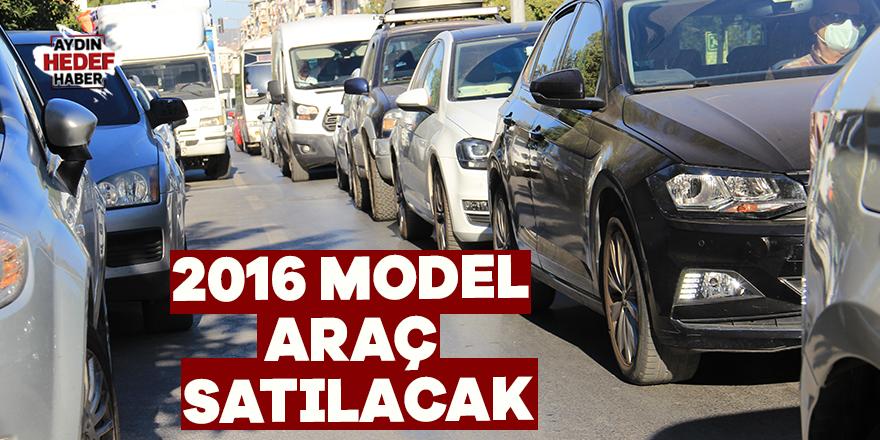 2016 model araç satılacak