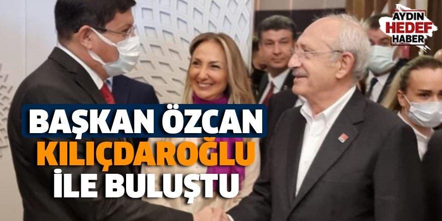 Başkan Özcan, Kılıçdaroğlu ile buluştu