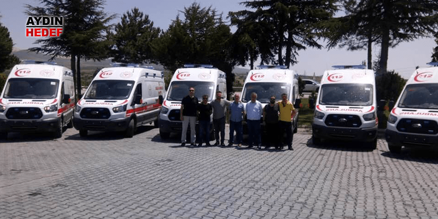 Aydın'daki ambulans sayısı 66'ya yükseldi