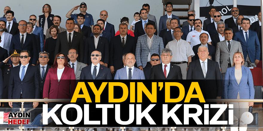 Aydın'da kriz