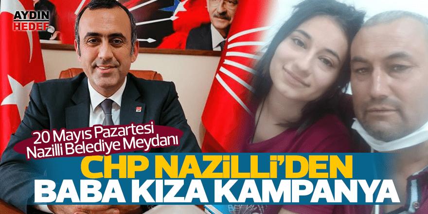 CHP Nazili de baba-kız için kampanya başlattı