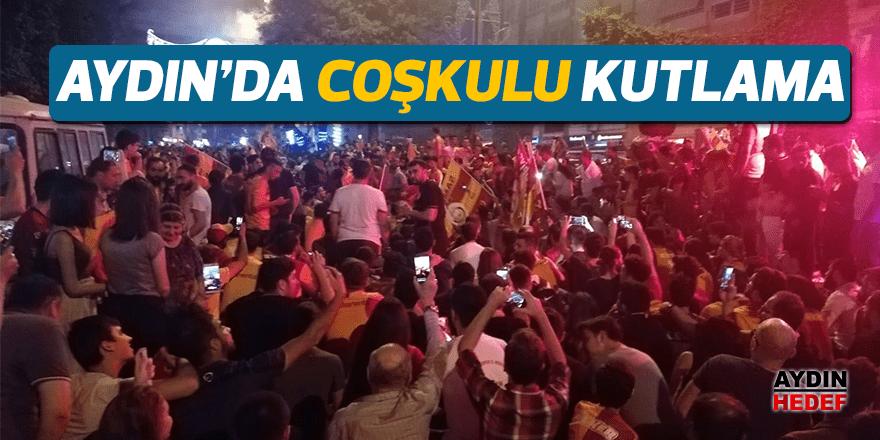 Aydın'da sarı kırmızı coşku