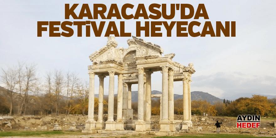Karacasu'da uluslararası festival heyecanı