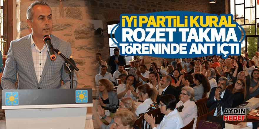 İYİ Parti'nin Nazilli'deki üyeleri rozetlendi