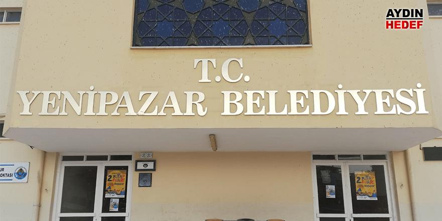 Yenipazar Belediyesi'nin tabelası değişti.