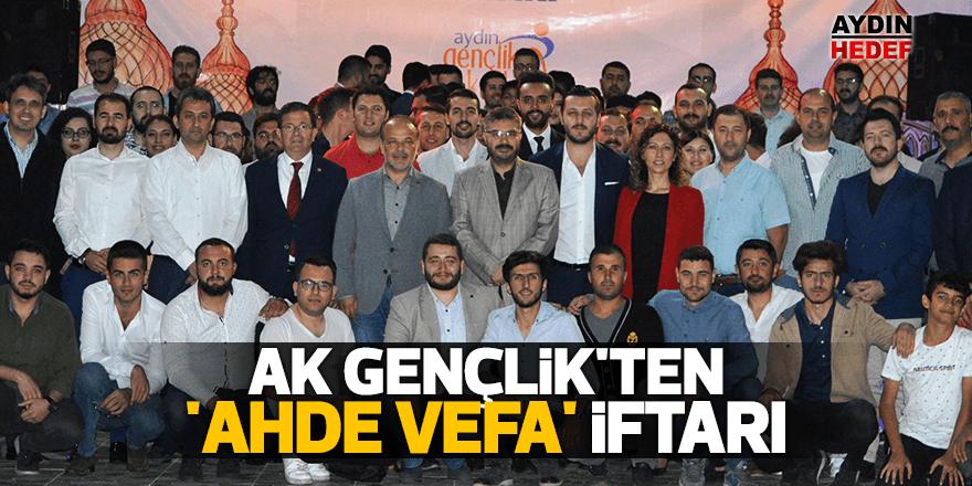 AK Gençlik'ten 'Ahde Vefa' iftarı