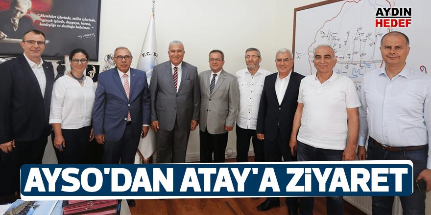 AYSO'dan Efeler Belediye Başkanı Atay'a ziyaret
