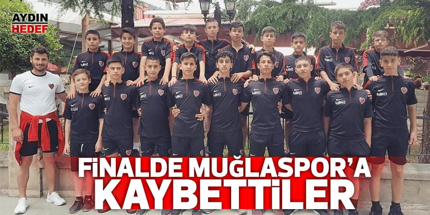 Finalde Muğlaspor'a kaybettiler