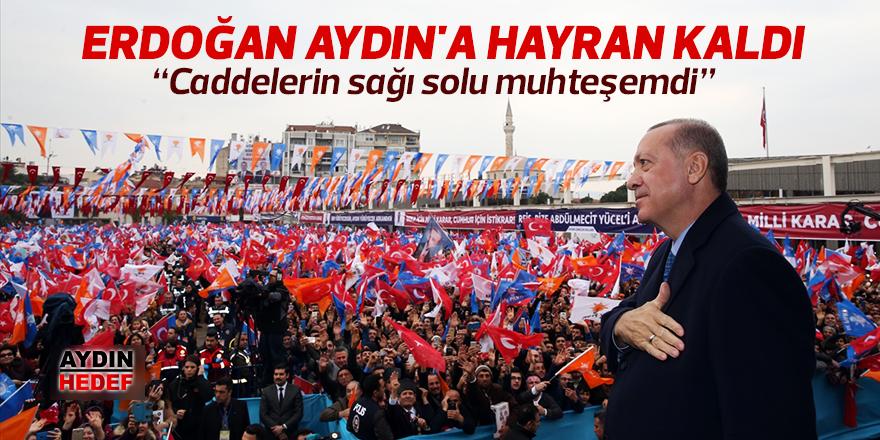 Erdoğan Aydın'a hayran kaldı