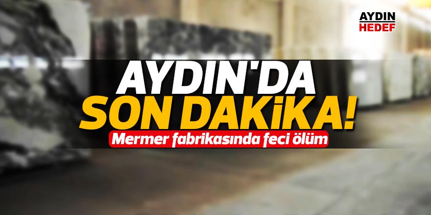 Aydın'da son dakika!
