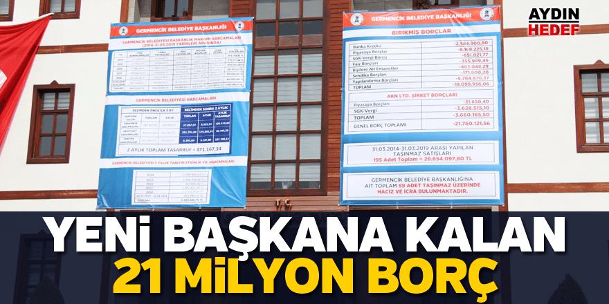Germencik Belediyesi borçları ilan etti