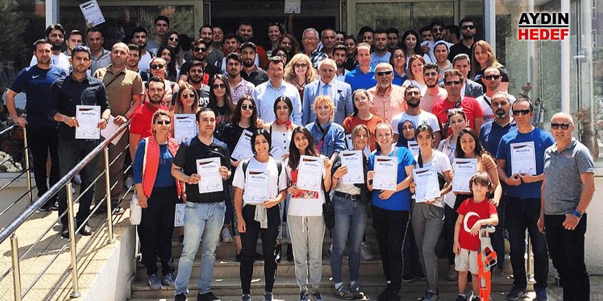 Projeye 117 kursiyer katıldı