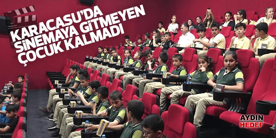 Karacasu'da sinemaya gitmeyen çocuk kalmadı