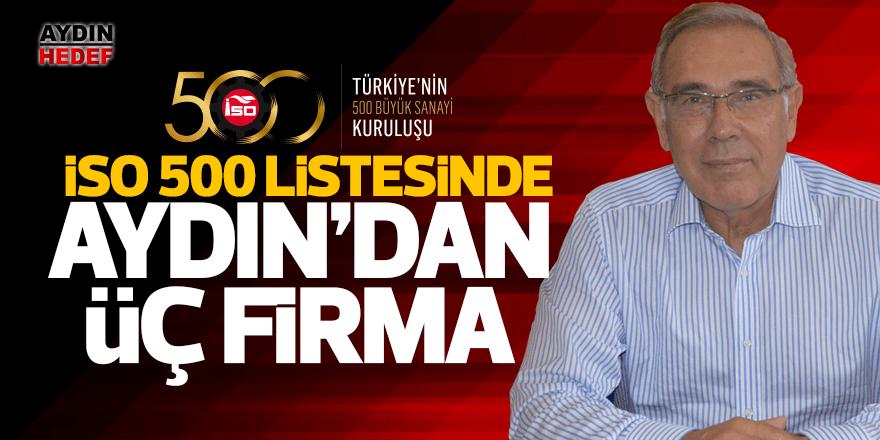 İSO 500 listesinde Aydın'dan 3 firma