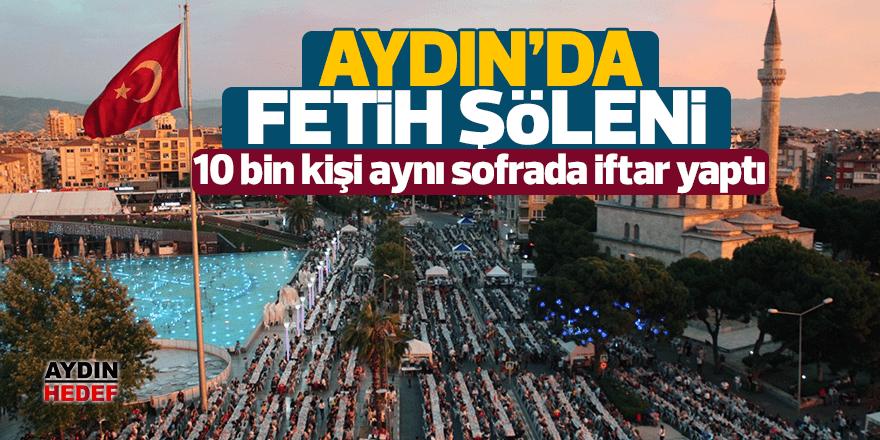 Aydın'da İstanbul'un fethinin 566. yıl dönümü coşkuyla kutlandı.