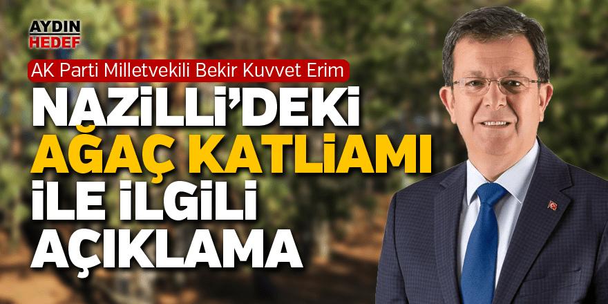 AK Partili vekil Erim alternatif yer arayacak