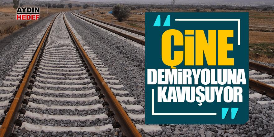 Çine demiryoluna kavuşuyor