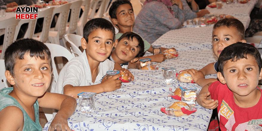 Germencik'te her gün iftar veriliyor