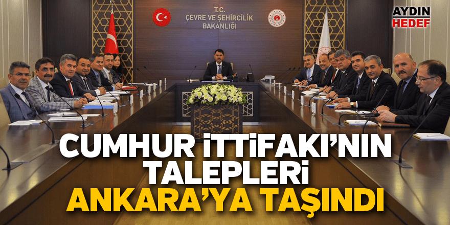 Cumhur İttifakı'nın talepleri Ankara'ya taşındı