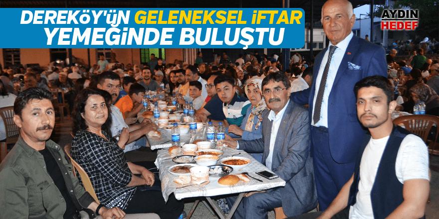 Karacasulular, Dereköy'ün geleneksel iftar yemeğinde buluştu