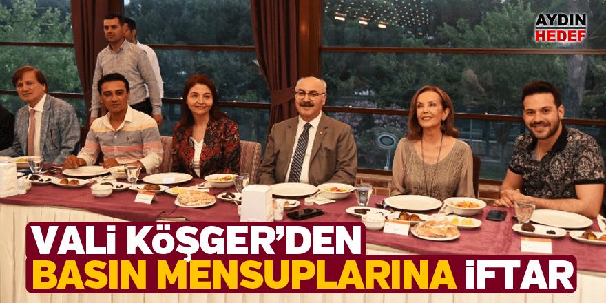 Vali Köşger'den basın mensuplarına iftar