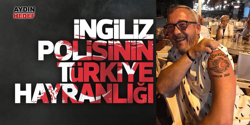 Türkiye hayranı İngiliz polis Türk dövmesi yaptı