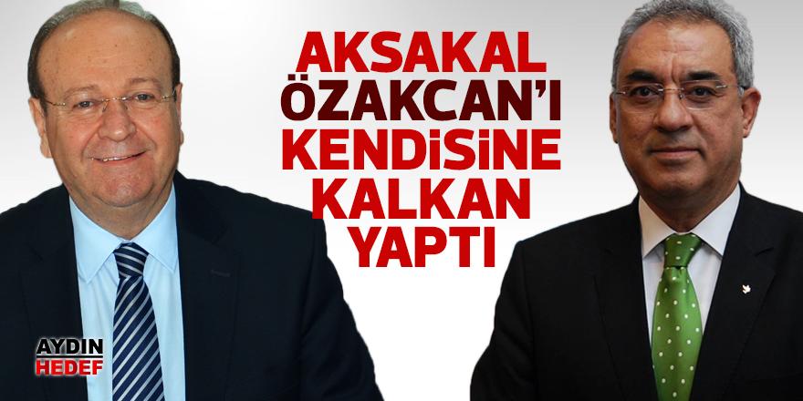 Aksakal Özakcan'ı kendisine kalkan yaptı