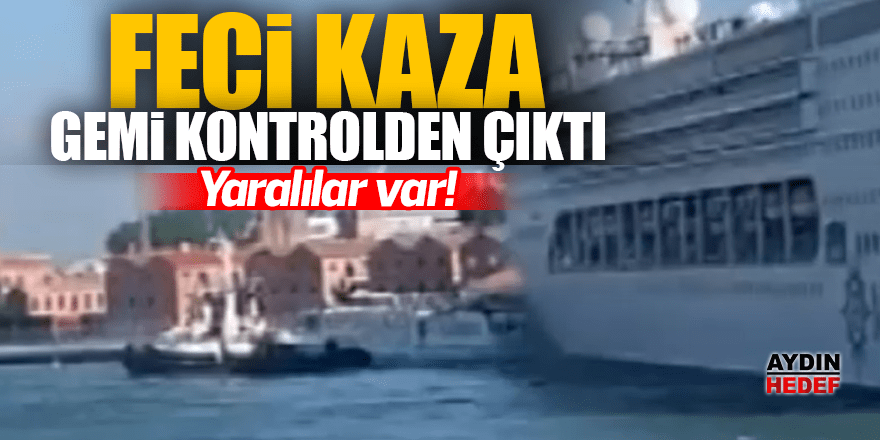 Gemi kontrolden çıktı: 5 yaralı