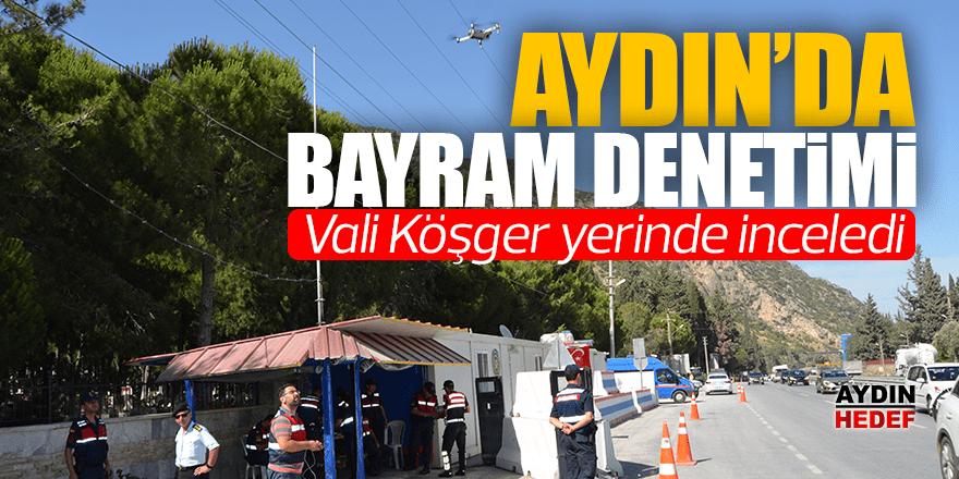 Aydın'da Ramazan Bayramı öncesi trafik denetimi