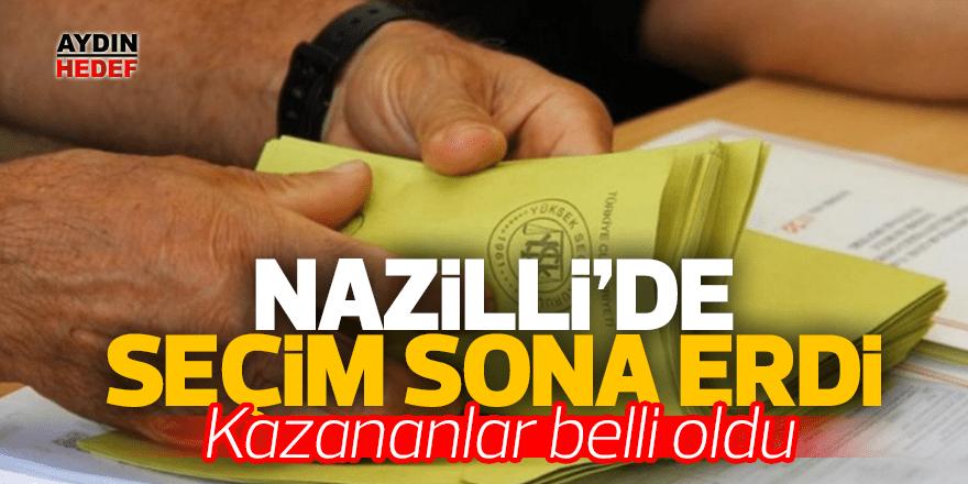 Nazilli'deki seçim sona erdi