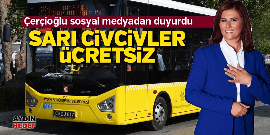 Çerçioğlu sosyal medyadan duyurdu