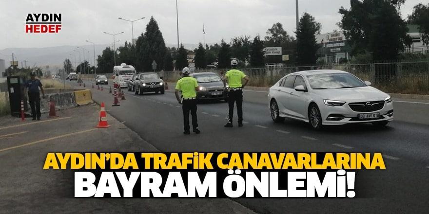 Trafik Canavarına Bayram Önlemi