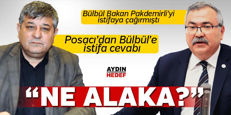 Bülbül Bakan Pakdemirli'yi istifaya çağırmıştı