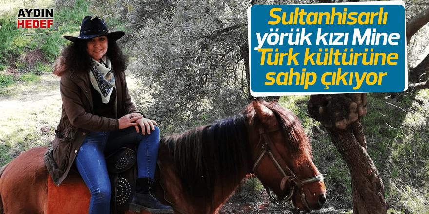 Yörük kızı Türk kültürüne sahip çıkıyor