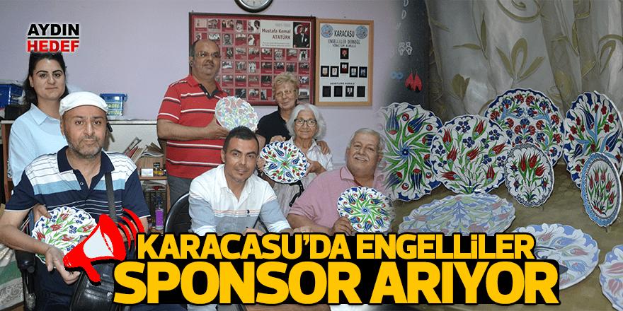 Karacasu'da engelliler sponsor arıyor