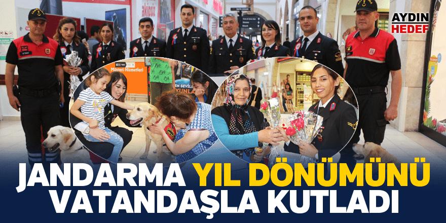 Aydın Jandarma yıl dönümünü vatandaşla kutladı