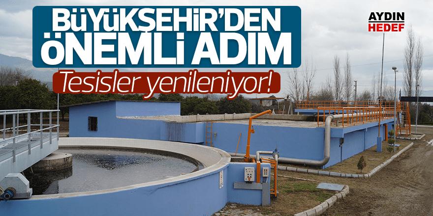 Büyükşehir'den önemli adım: Atık su arıtma tesisleri yenileniyor