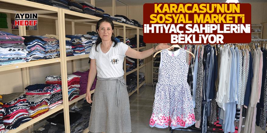 Sosyal Market raflarında yazlık giysiler yerini aldı